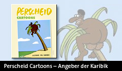 Perscheid Cartoons - Angeber der Karibik