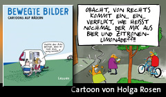 Cartoon von Holga Rosen